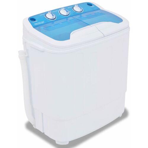 YOUTHUP Mini-Waschmaschine mit Schleuder und 2 Kammern 5,6 kg