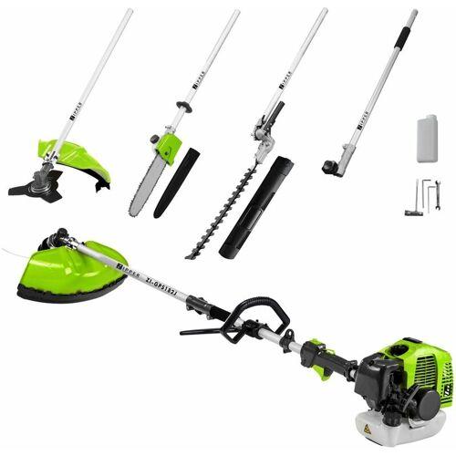 Zipper Benzin Gartenpflege-Set ZI-GPS182J 4 in 1 Hochentaster, Sense,