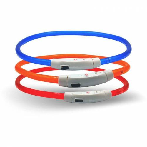 LYRA PET 1 Stk. ® LED Halsband 70 cm rot - Lyra Pet