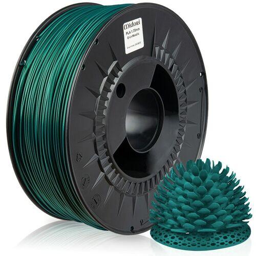 MIDORI 10 x MIDORI® 3D Drucker 1,75mm PLA Filament 1kg Spule Rolle Premium