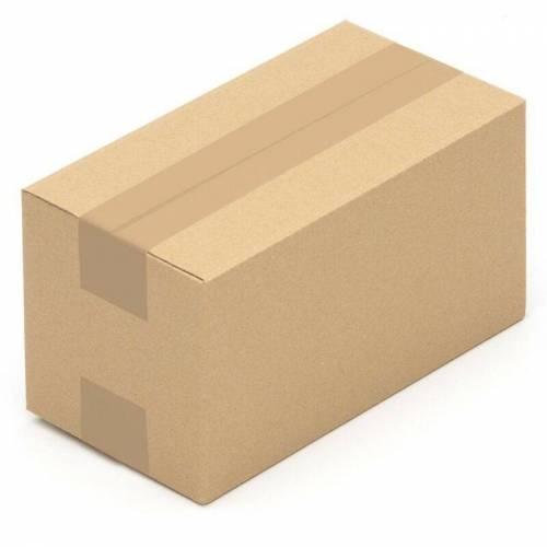 KK VERPACKUNGEN 1000 Faltkarton Verpackungsmaterial Faltkisten Kartons 240 x 130 x 130