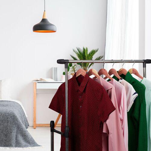 RELAXDAYS 12 x Kleiderbügel Zedernholz, Mottenschutz im Kleiderschrank, edles