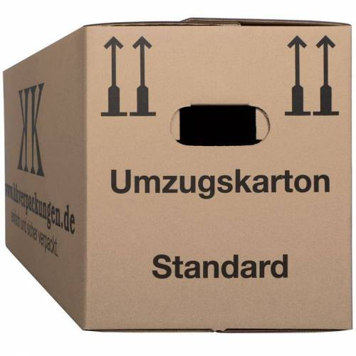 Kk Verpackungen - 150 neue TOP Umzugkarton UK Umzugskartons braun