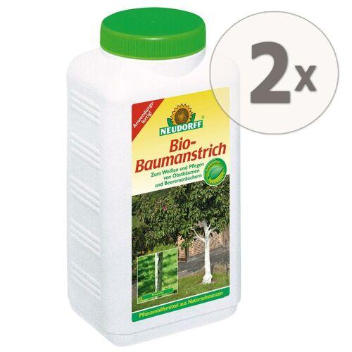 NEUDORFF 2 x 2 Liter Bio-Baumanstrich Baumschutz Baumpflege Weißen - Neudorff