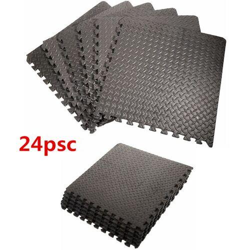WYCTIN 24x EVA Schutzmatten Schutzmattenset Bodenschutzmatten