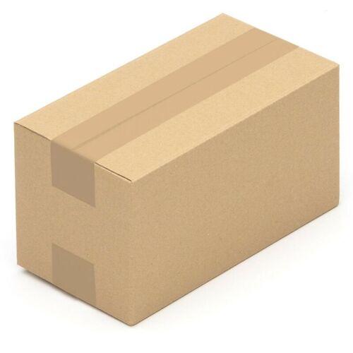 KK VERPACKUNGEN 25 Faltkarton Päckchen Verpackungskiste 240 x 130 x 130