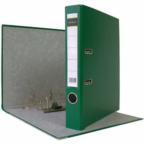 MIDORI 25 x Akten-Ordner PP A4 50 mm Grün Kunststoff Archiv Büroordner