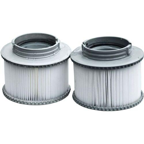 HHG 2x Wasserfilter für Whirlpool MSpa HHG-496, Ersatzfilter