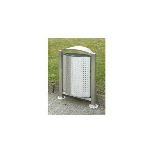 CERTEO Abfallbehälter   Rostfreier Stahl   Volumen 55 l   Certeo Abfallbehälter