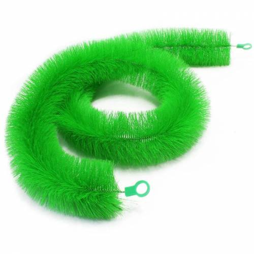 Wiltec - Ablaichbürste 200 cm Ø 15 cm aus grünem und sehr weichem