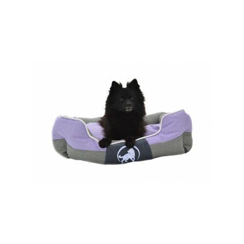 Aquagart® Hundebett violett L 75 x 60cm Hundekissen Hundebetten