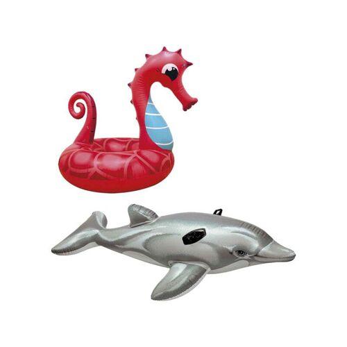 EIGENMARKE Aufblasbare Seepferdchen-Boje 91 cm - Aufblasbare