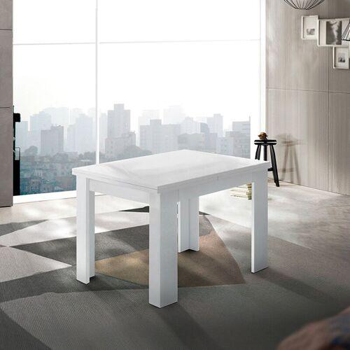 Ahd Amazing Home Design - Ausziehbarer Konsolentisch weiß modernes