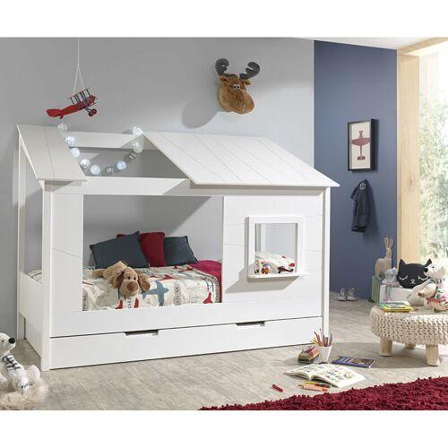 Lomadox - Baumhaus Kinderbett ALEXANDRIA-12 Liegefläche 90 x 200 cm und