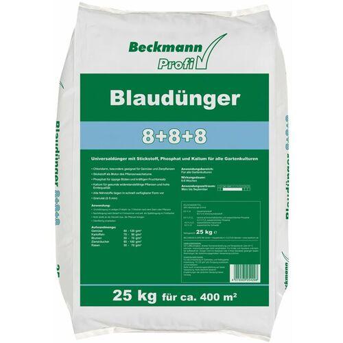 BECKMANN Profi Blaudünger 8 + 8 + 8 - 25 kg für ca. 400 m² - Beckmann