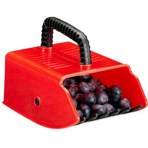 RELAXDAYS Beerenpflücker, Erntehelfer, Kunststoff, für Heidelbeeren,