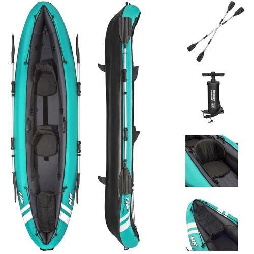 Bestway Kajak Hydro-Force Schlauchboot Boot mit Paddel + Pumpe 65052