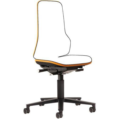 bimos Stuhl / Bürostuhl NEON grün synchro mit Rollen