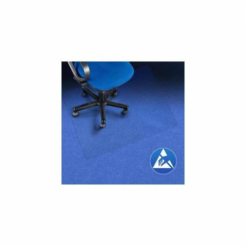 Certeo - Bodenschutzmatte   BxL 120 x 130 cm   PC   Teppichboden
