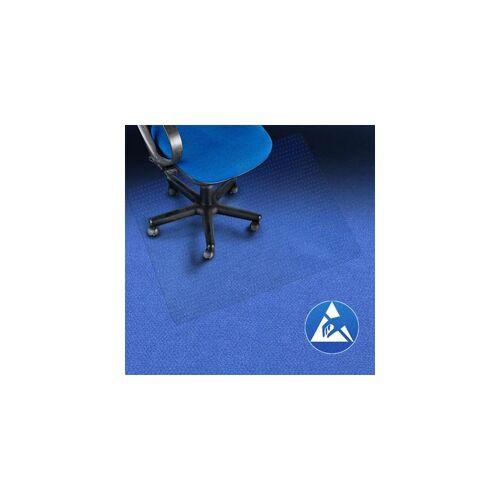 Certeo - Bodenschutzmatte   BxL 120 x 200 cm   PC   Teppichboden