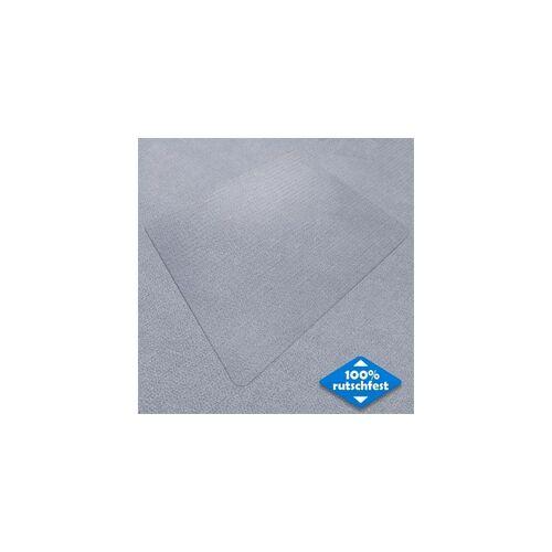 CERTEO Bodenschutzmatte Neo   PVC   BxL 120 x 130 cm   Teppichboden