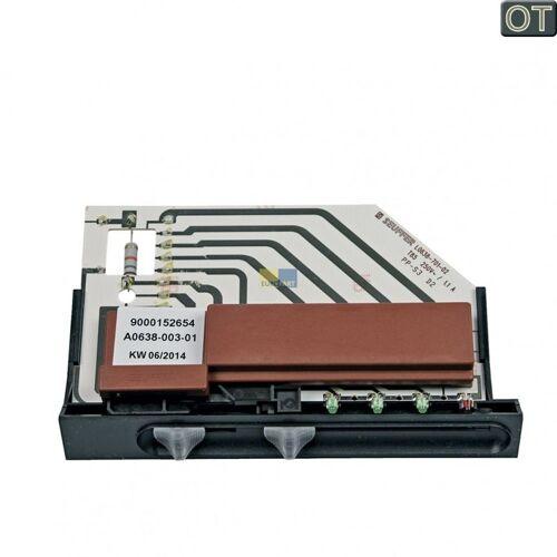Bosch Siemens Schiebeschaltertafel Schalter Dunstabzugshaube - Nr.: 498638