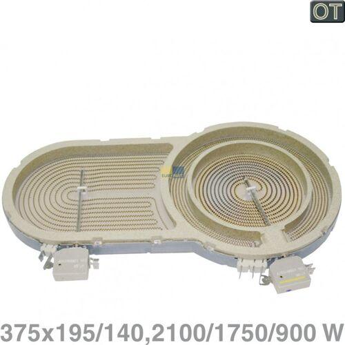 Bosch BSH Siemens Dreikreis Strahlheizkörper, Heizkörper mit 2100/1750/900