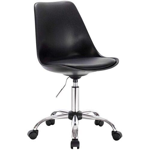 WOLTU Bürostuhl aus Kunstleder schwarz - WOLTU