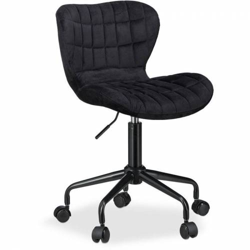 RELAXDAYS Bürostuhl, höhenverstellbarer Drehstuhl, bequemer Stoff, 120 kg