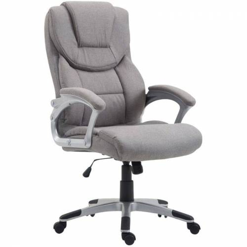 CLP - Bürostuhl XL Texas V2 Stoff-grau