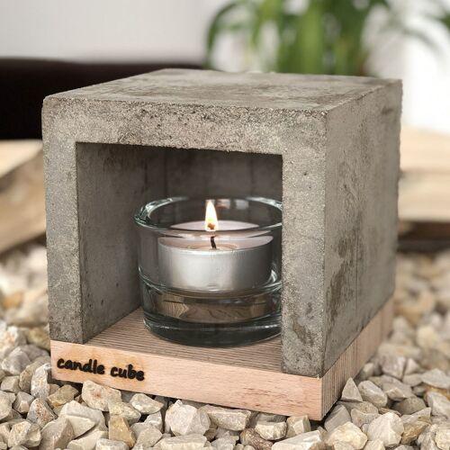 ECI - candle cube© Kleiner Teelicht Tisch-Kamin Ofen Stövchen
