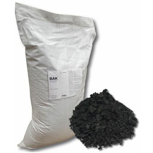 CARBUNA BAK Bioaktiv Kohle 20 kg Pflanzenkohle Einstreu Gülleverbesserung