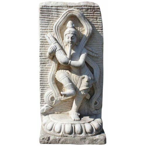 Asienlifestyle - Chinesischer Tempeltänzer aus Marmorstein