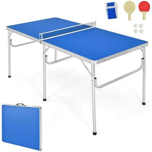COSTWAY Tischtennisplatte Tischtennis Platte Tischtennistisch klappbar