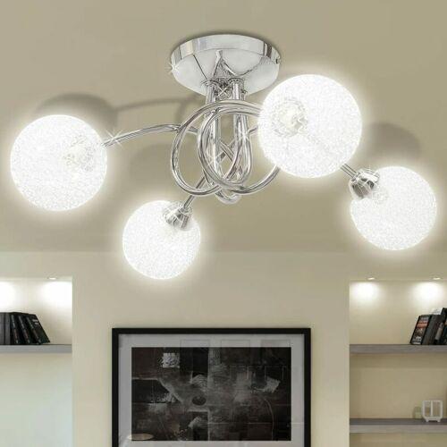 BETTERLIFE Deckenleuchte mit Drahtgeflecht-Lampenschirme 4 × G9 Glühlampen
