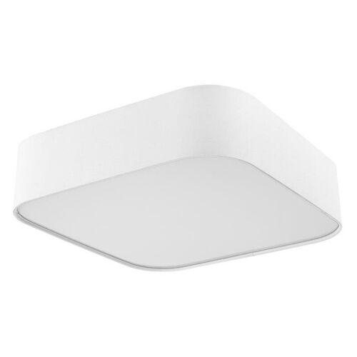 SORPETALER Deckenleuchte Sorpetaler Stoff weiß Deckenlampe LED eckig 60 x 60 cm