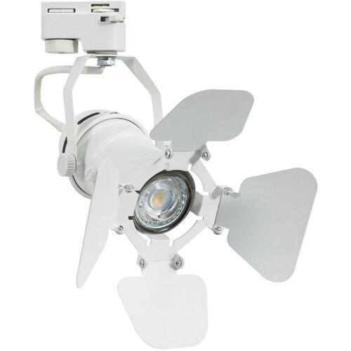 LEDKIA Drei-Phasen-Strahler für GU10-Glühbirne Kurangna Weiß