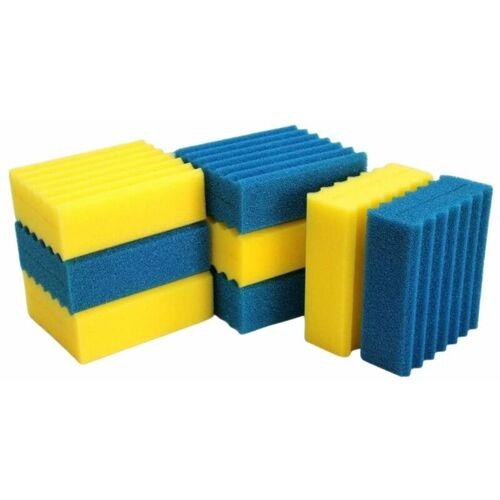 AQUARISTIKWELT24 Ersatzschwämme für CBF-350B CBF-550 Teichfilter Kammerfilter Filter