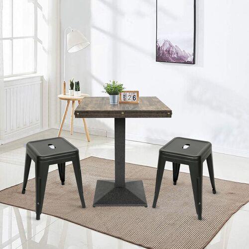 Wyctin - Esstisch mit 2 Stühlen Esszimmer Essgruppe 60x60x75cm lässiger