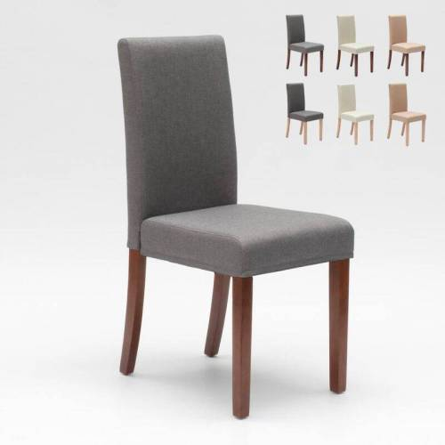 AHD AMAZING HOME DESIGN Esszimmerstuhl Esstischstuhl Gepolstert Henriksdal Design Comfort   Grau