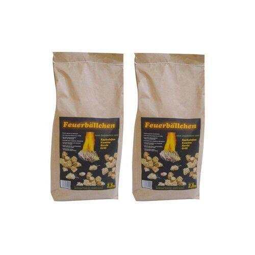 RAIFFEISEN-WAREN Raiffeisenwaren Feuerbällchen Anzünder, Inhalt 5 kg, Brenndauer 10 min