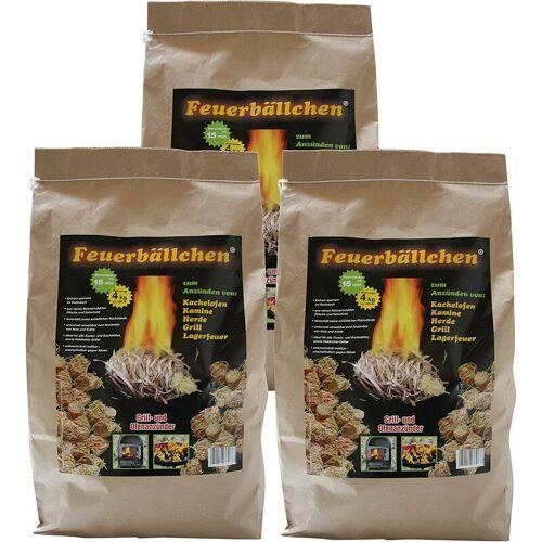 RAIFFEISEN-WAREN Raiffeisenwaren Feuerbällchen Anzünder, Inhalt 12 kg, Brenndauer 10 min