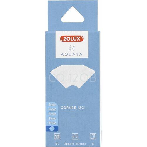 ZOLUX Filter für Eckpumpe 120, CO-Filter 100 B Perlon x 2. für Aquarium.