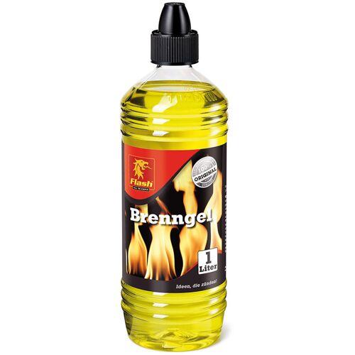 BOOMEX Flash Brenngel 1 L Flasche Brennpaste Anzündpaste Feuergel Kamingel