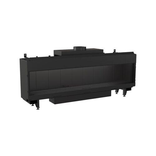 KRATKI Gaskamin Kratki LEO 200 schwarz 17 kW Erdgas LPG Thermische Steuerung
