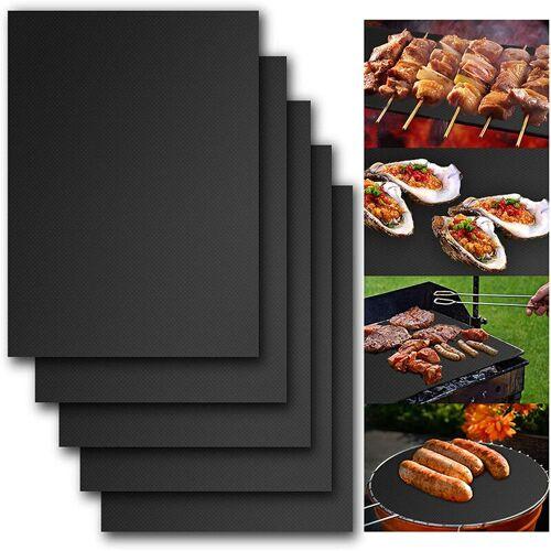 BETTERLIFE Grillmatte zum Grillen, Backmatte zum Grillen 400 * 500mm (5 Stk