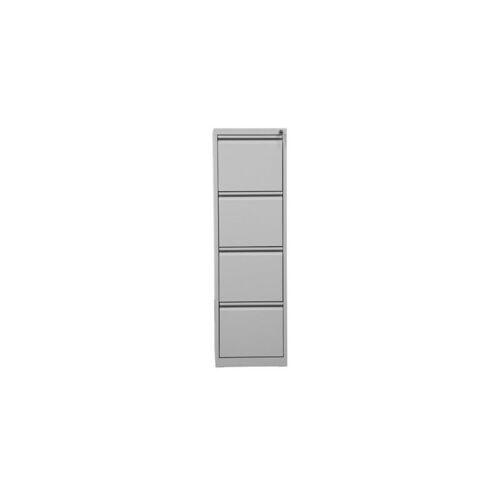 CERTEO Hängeregistraturschrank   HxBxT 132 x 40 x 62 cm   Grau Hängeregister