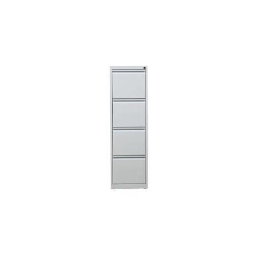 CERTEO Hängeregistraturschrank   HxBxT 132 x 40 x 62 cm   Weiß Hängeregister