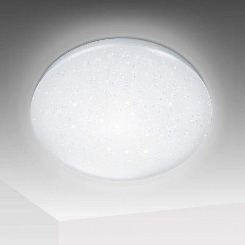 HENGDA 12W LED Deckenlampe Sternenhimmel/ 1080LM Kaltweiß Rund Sternen