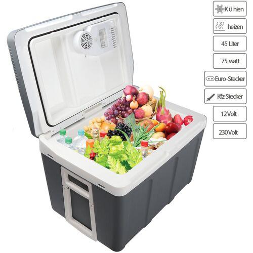Hengda Kühlbox tragbare 45 Liter, thermo-Elektrische Kühlbox, WÄRMT und
